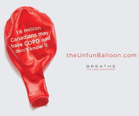 BBDO Toronto Tackles COPD