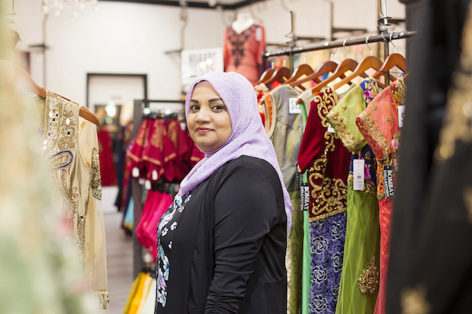 Arifa. Entrepreneur and Store Owner. British Columbia.