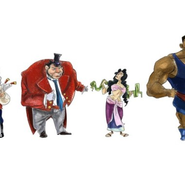 Circus Character Lineup