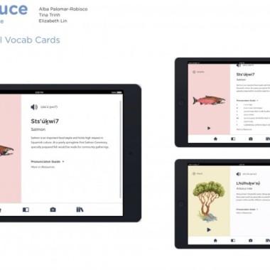 Introdeuce - Squamish Vocabulary Game
