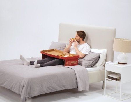 john st. Lets You Eat Pizza in Bed