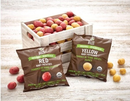 Orange Keel Creates Innovative Packaging for EarthFresh Foods