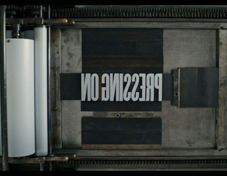 For the Love of Type! Pressing On: The Letterpress Film